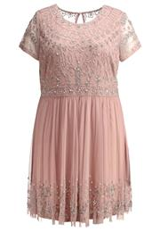 Frock And Frill Curve Festkjole Blush