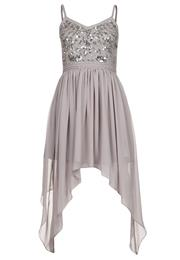 Frock And Frill Festkjole Light Grey