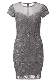 Miss Selfridge Festkjole Grey
