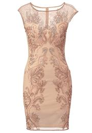 Miss Selfridge Festkjole Nude