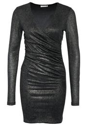Supertrash Dank Festkjole Black Silver