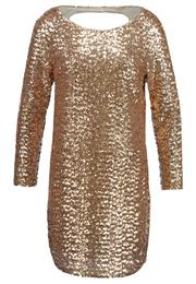 Vero Moda Vmfinch Festkjole Gold Colour