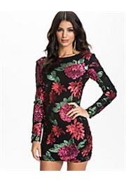 Swift Rose Sequin Bodycon Kjole