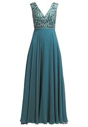 Luxuar Fashion Festkjole Dark Green