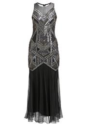 Miss Selfridge Boudica Festkjole Black