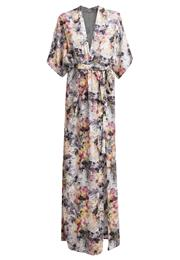 Supertrash Doyle Festkjole Palm Print